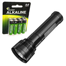 Combo: Nitecore EA81 XHP50 Flashlight 2150 Lumens w/8x Eco-Sensa AA Batteries