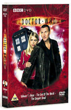 DOCTOR WHO = SERIES 1 DISC 1 = 3 EPISODES = VGC  DISC ONLY