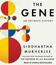 The Gene : An Intimate History by Siddhartha Mukherjee (2016, CD, Unabridged)