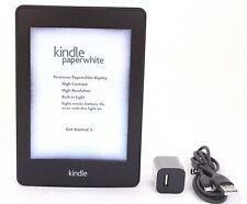 Amazon Kindle Paperwhite, 1st Gen, Wi-Fi, Black (32-8B, 40-3A, 49-6B, 49-5B)
