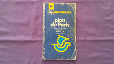 Rare Guide Michelin « Plan De Paris » 1984 En Etat