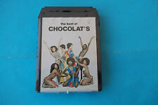 "THE CHOCOLAT'S "" the best of """"CHOCOLAT'S "" MUSICASSETTA STEREO 8 SEALED"