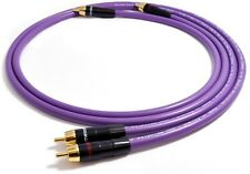 MELODIKA MD2R05 4N OFC Audiophile Interconnect Cables RCA 2x 50cm