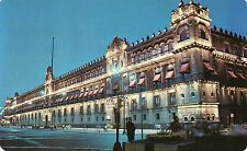 Vintage Mexico Post Card National Palace Zocalo 1960 New Unused