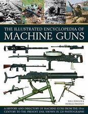 The Illustrated Encyclopedia of Machine Guns~Directory by Country~160 Types~NEW