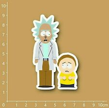 """Rick and Morty South Park style Decal Sticker (2""""x 3"""")"""