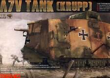 MENG German A7V Tank (Krupp)Tank 504 Schnuck 1918 Autumn 1:35 Modell-Bausatz kit