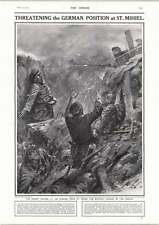 1915 French Bayonet Charge Cecil At St Mihiel