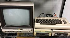 Vintage Commodore 64 breadbox computer complete 1702 monitor 1541 C2N 1530 1526