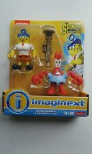 New Imaginext SpongeBob Invincibubble & Sir Pinch-A-Lot Nickelodeon 3 Piece Toy