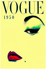 "Abstract Pop Vogue Fashion Original Print Poster Large 16"" x 24"""