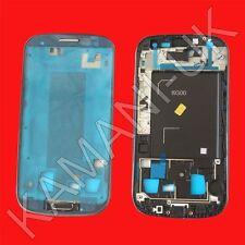Alta Calidad Frontal Negro Carcasa Marco Bisel Medio Para Samsung Galaxy S3 I9300