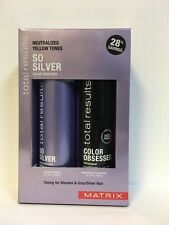 Matrix Total Results So Silver Color Obsessed Shampoo & Conditioner - 10.1oz DUO