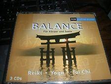 Balance für Körper und Seele-Reiki, Yoga, Tai Chi (2003) Bashô, Roberto.. [3 CD]