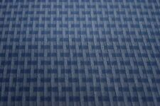 "10 YDS OF FASHION WORKS MALLARD BLUE CHECKED 100% COTTON APPAREL FABRIC 48"" W"