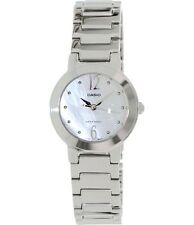 Casio LTP1191A-7A Ladies Stainless Steel Casual Dress Watch Round Quartz White