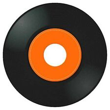 New 80's 45 RPM Jukebox Record Set With Printed Title Strip Cards