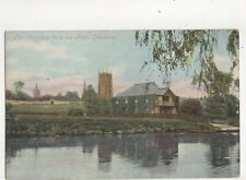 The Churches From The Avon Evesham Vintage Postcard 287b