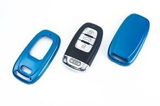 Audi Remote Flip Key Cover Case Skin Shell Cap Fob Protection Hull S Line Blue -