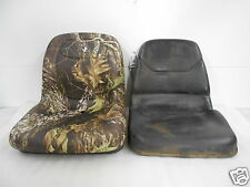 NEW CAMO HIGH BACK SEAT FOR JOHN DEERE 755, 855 & 955 COMPACT TRACTOR #RC