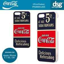 Coca-Cola Genuina Cubierta Carcasa de antiguo de 5 centavos para Apple iPhone 5/5S/se
