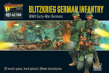 BLITZKRIEG GERMAN INFANTRY - BOLT ACTION - WARLORD GAMES WW2 28mm WARGAMING