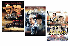 """LA CLAVE 7"" - Part 1, 2 & 3 * NEW Factory Sealed set of 3 DVDs * Jorge Reynoso"
