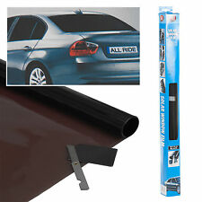 Black Windows Tint Film Car Custom Mod Universal Fit 3m x 50cm Blacked Out Kit