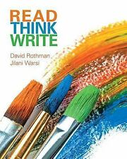 NEW - Read Think Write: True Integration Through Academic Content