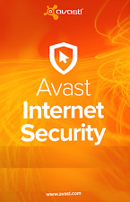 Avast Internet Security  3PCs  2017, 1 Year (LATEST DOWNLOAD VERSION)