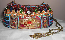 The Jewel of The Nile by Mary Frances Collection Evening Bag - Brand New