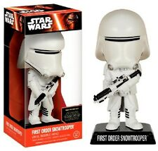 Star Wars - First Order Snowtrooper - BOBBLE HEAD / WACKELKOPF / WOBBLER