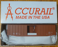 Accurail HO #5699 Data Only-Oxide (50' Ext. Post Boxcar Kit)