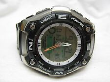 "Men's CASIO ""Fishing Gear"" Chronograph AQW-101 Watch w/ New Batteries"