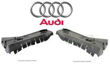 Audi A4 Quattro 02-05 Set of Front Left & Right Bumper Cover Guide PAIR Genuine