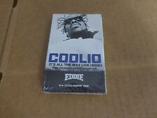 COOLIO IT'S ALL THE WAY LIVE (NOW) FACTORY SEALED CASSETTE SINGLE