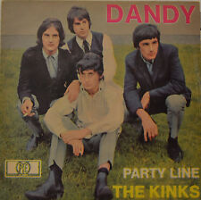 "THE KINKS - DANDY - PARTY LINE   7""SINGLE (G417)"