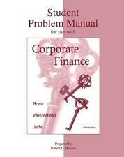 Corporate Finance Student Problem Manual