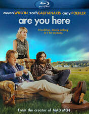 Are You Here (Blu-ray Disc, 2014) BRAND NEW, Owen Wilson, Amy Poehler