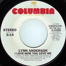 LYNN ANDERSON I Love How You Love Me ((**NEW UNPLAYED 45 DJ**)) from 1979