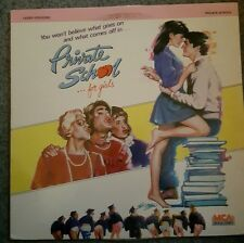 PRIVATE SCHOOL FOR GIRLS JAPAN LASERDISC BETSY RUSSELL PHOEBE CATES MODINE RARE