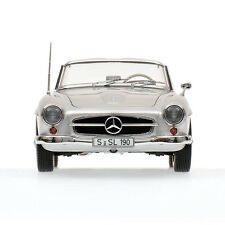 MINICHAMPS 1955 MERCEDES 190SL (W121) CABRIOLET SILVER COLOR 1:18**New Release**