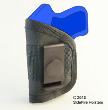 Concealed IWB Holster Taurus TCP 380 with Crimson Trace Laser - Watch Video Demo