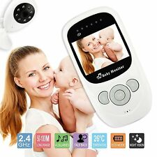 Wireless 2.4GHz Digital Color LCD Baby Monitor Camera Night Vision Audio Video W