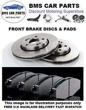 BMW X5 3.0i 3.0D 4.4 E53 2000-2006 FRONT 2 BRAKE DISCS AND PADS SET NEW KIT