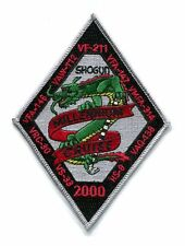 CVN-74 USS STENNIS VF-211 US NAVY F-14 TOMCAT SQUADRON 00 WESTPAC Cruise Patch