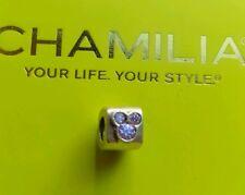 Genuine Chamilia silver 925 Disney Mickey pink bracelet charm bead DIS-500D