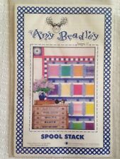 "Amy Bradley Desgins ""Spool Stack"" quilt pattern in 4 sizes"