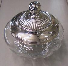 vaso / ciotolona con coperchio in argento 800% MADE IN ITALY