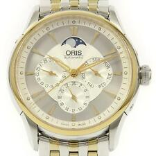 Authentic ORIS 01 581 7592 4351-07 Artelier Complication Gold & Steel  #260-0...
